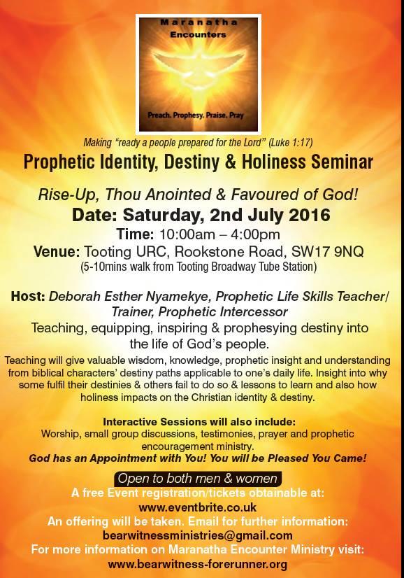 2nd July Seminar Poster